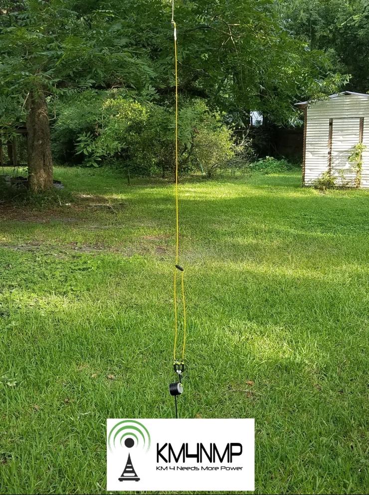 2m Portable J-Pole Antenna – KM4NMP
