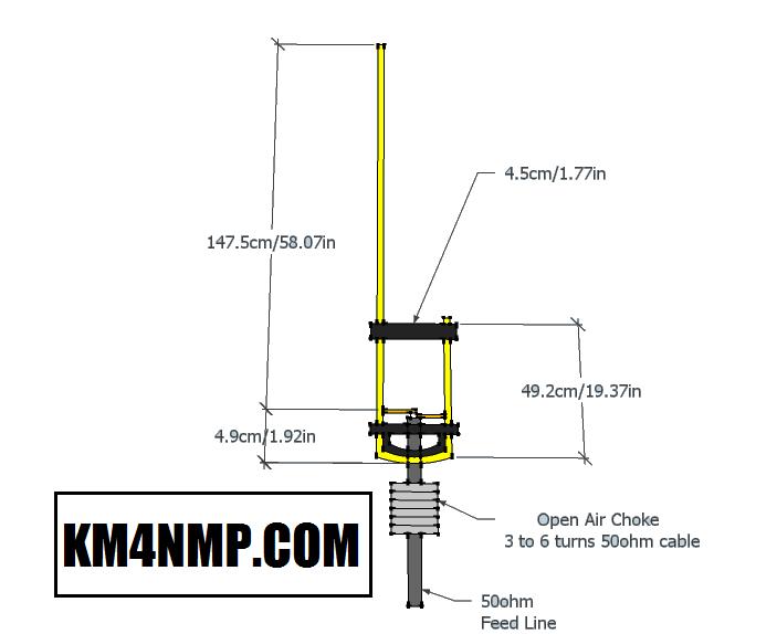2m Portable J-Pole Antenna Tuning – KM4NMP